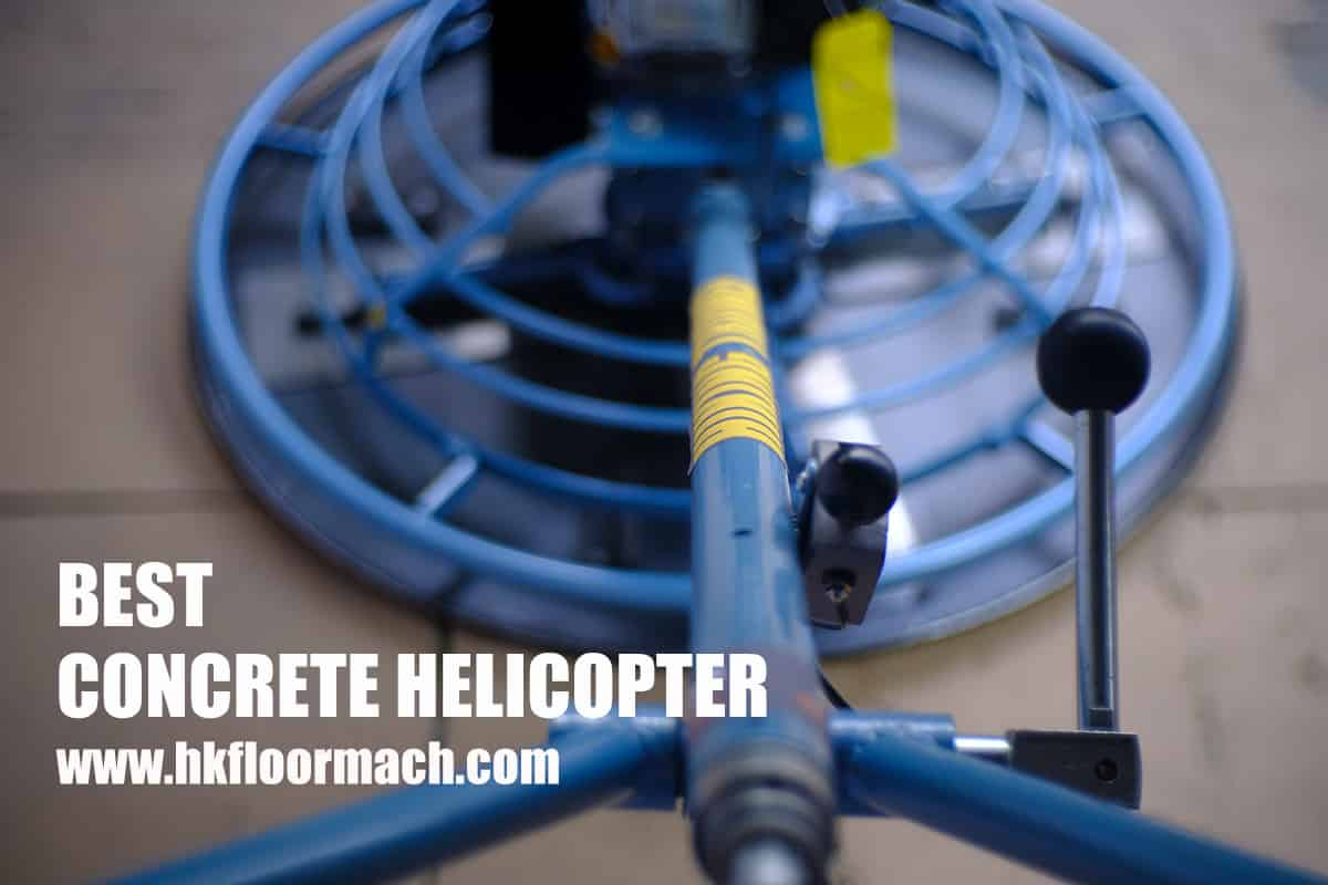Concrete Helicopter - Hiking Machinery
