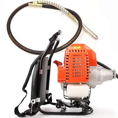 gas powered concrete vibrator
