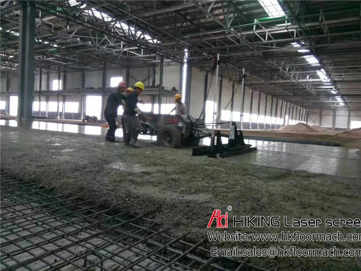 An introduction about accuracy for the authentic concrete laser screed 4