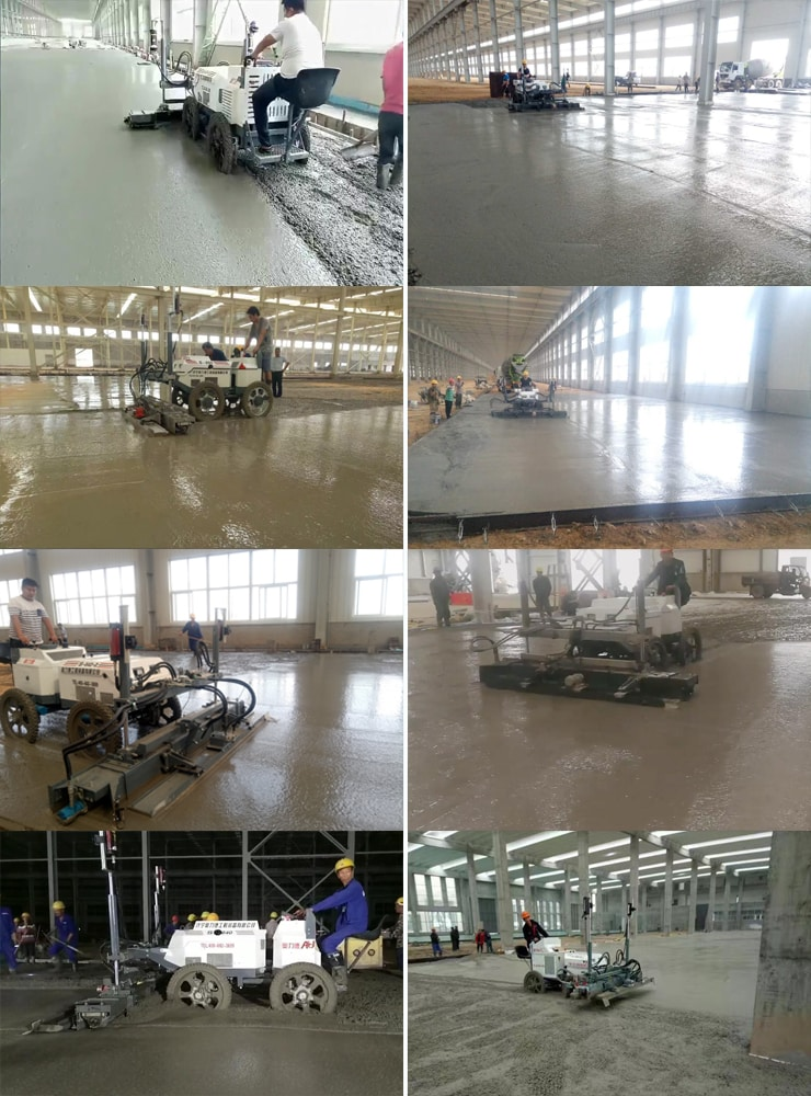 S940 Ride on concrete laser screed machine - laser screed