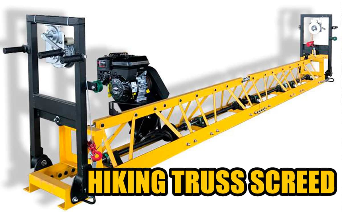 truss screed for sale-Hiking machinery