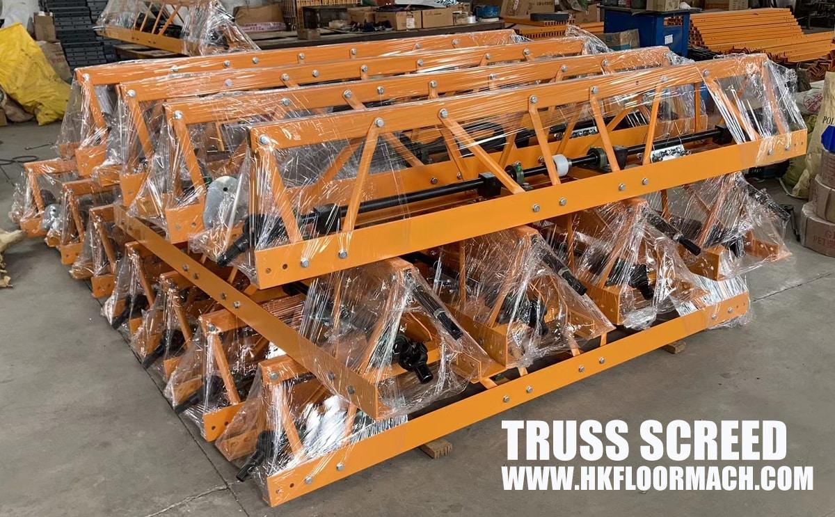 steel type-truss-screed