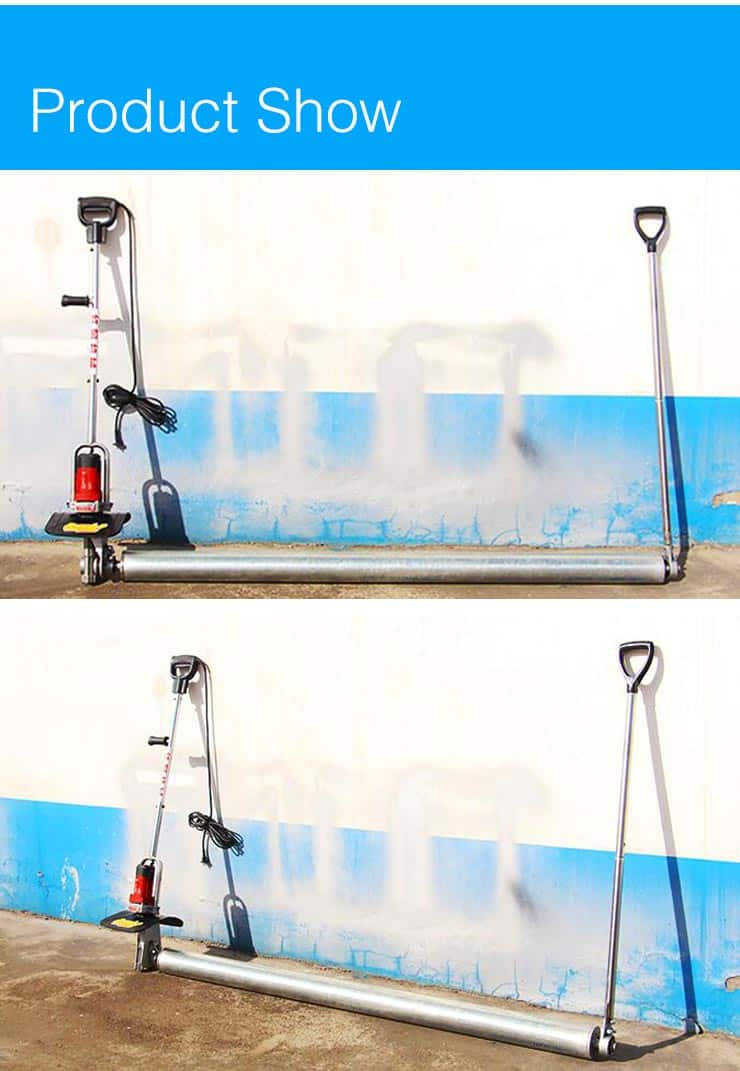concrete roller screed machine