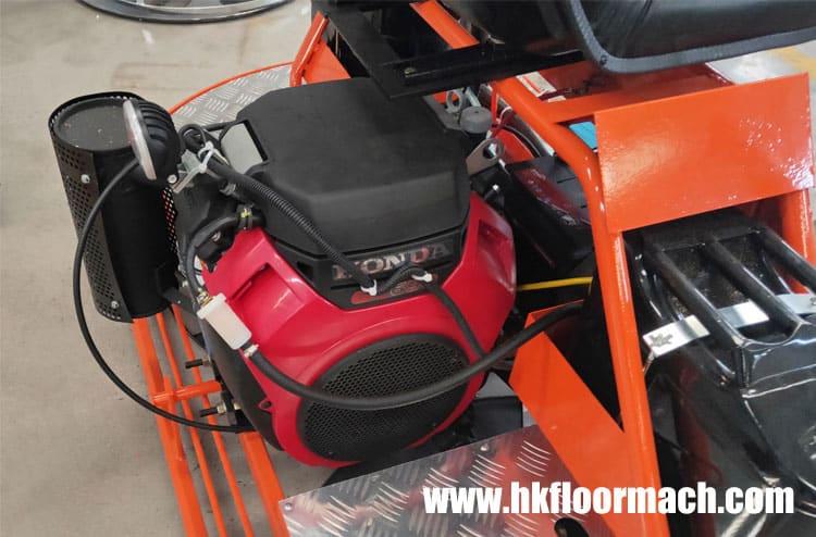 Using Honda gx690 engine with abundant power and good stability.
