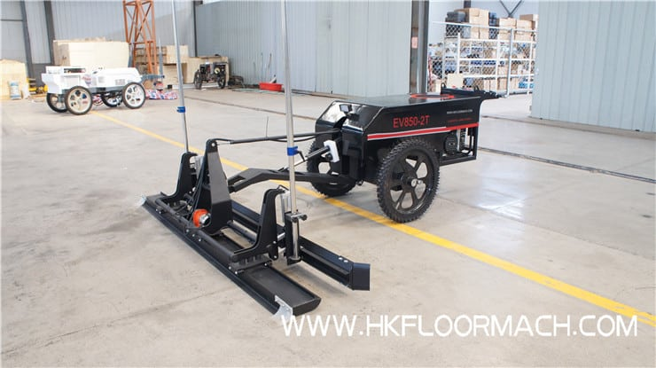 EV850-2T Lightweight laser screed machine(2.6m type) 2