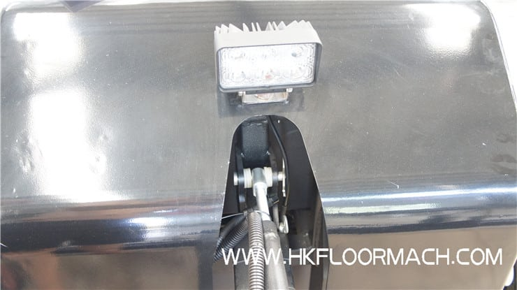 led headlight of walk behind laser screed