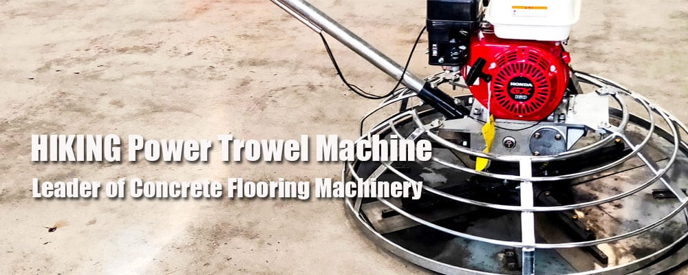hiking power trowel machine