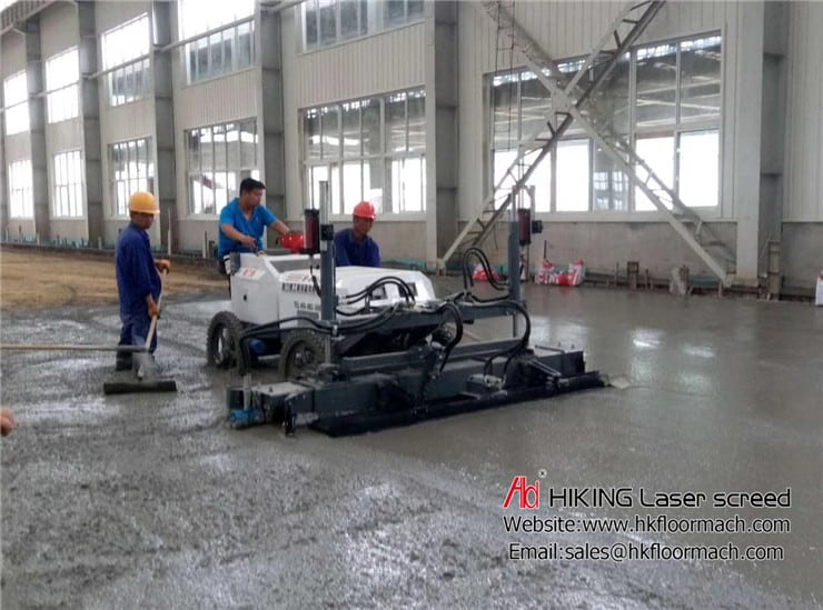 An introduction about accuracy for the authentic concrete laser screed 5