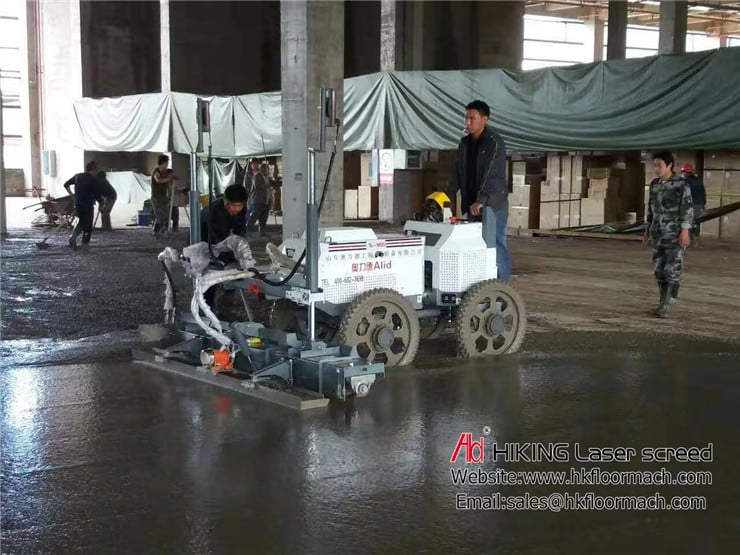 An introduction about accuracy for the authentic concrete laser screed 6