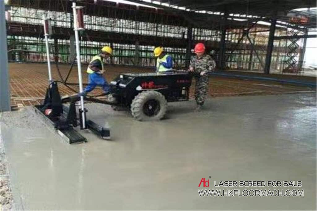 features of concrete laser screed flooring