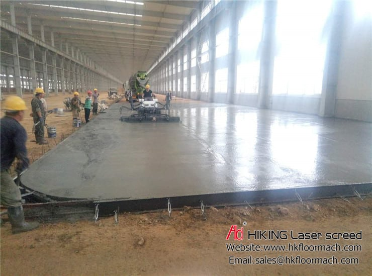 What is a laser screed? and Why use concrete laser screed? 3