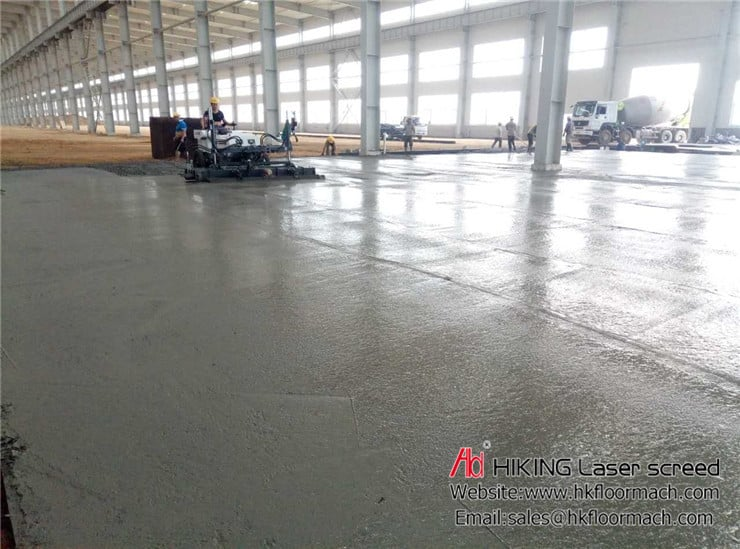 What is a laser screed? and Why use concrete laser screed? 4