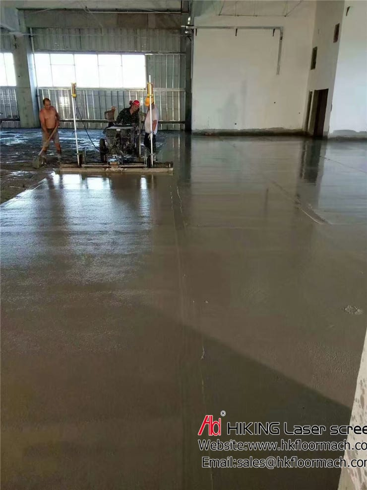 What is a laser screed? and Why use concrete laser screed? 2