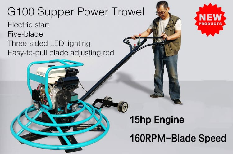 New type power trowel machine for sale