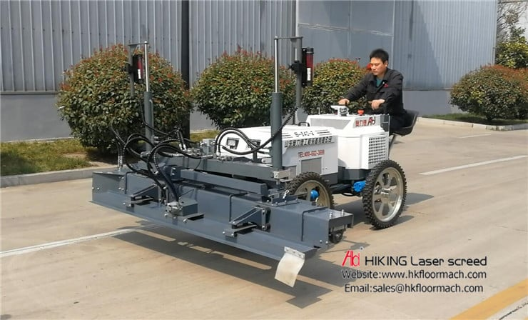 The upkeep and maintenance for the four-wheeled concrete laser screed 2