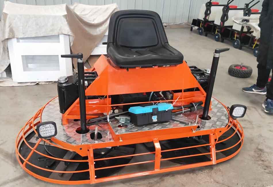 ride on power trowel machine