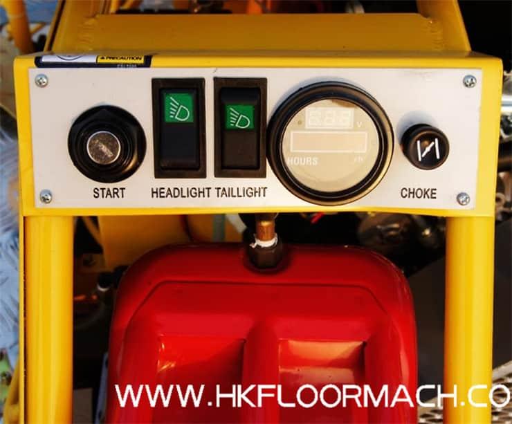 T100 Ride on trowel machine 3
