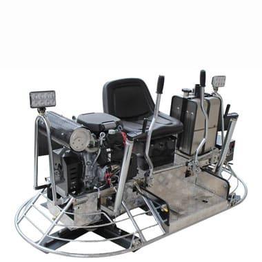 s100 ride on trowel machine
