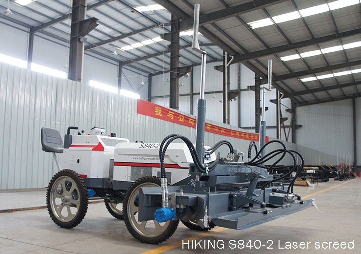 S840-2 Ride on Concrete Laser screed machine 2