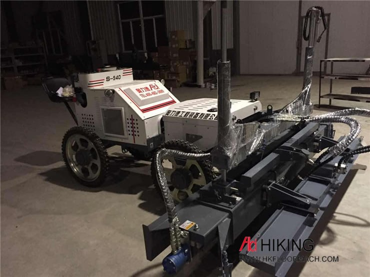 S940 Ride on concrete laser screed machine 6
