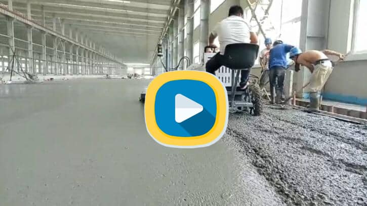 video of ride on laser screed
